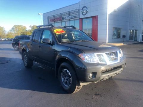 Pre-Owned 2014 Nissan Frontier 4WD Crew Cab SWB Auto PRO-4X 4WD
