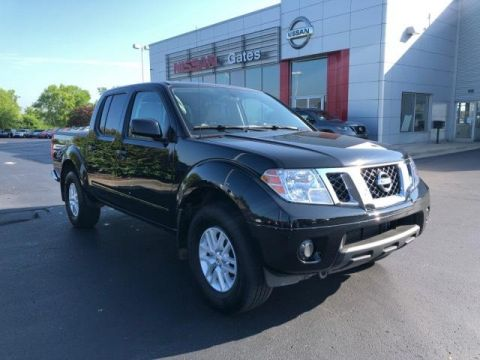 Pre-Owned 2019 Nissan Frontier Crew Cab 4x4 SV Auto 4WD
