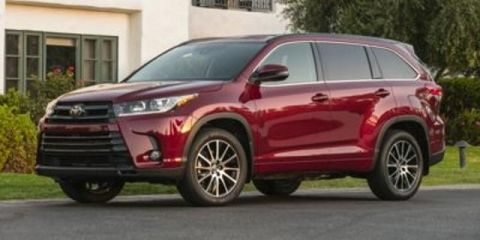 New 2019 Toyota Highlander Limited Platinum - V6 AWD With Navigation & AWD